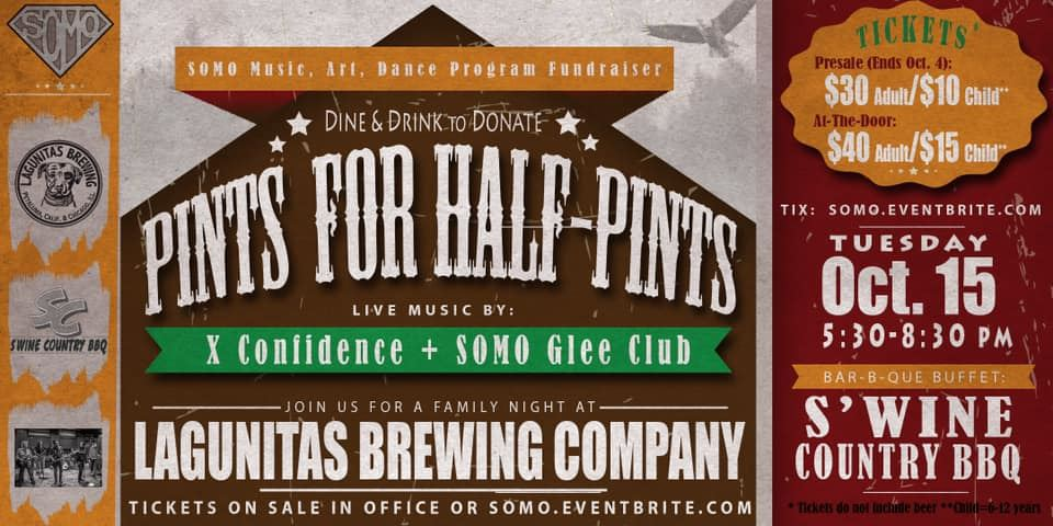 Pints for Half Pints - Oct. 8